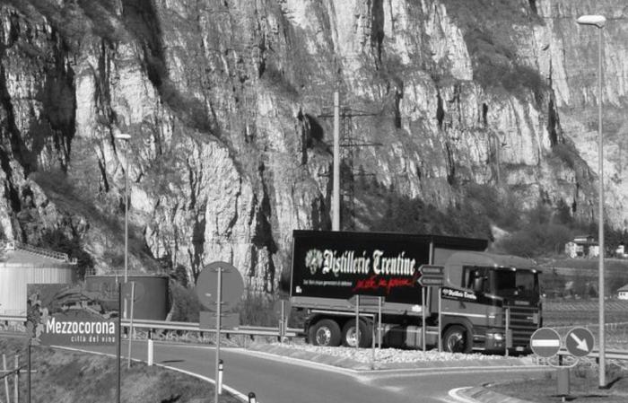 Distillerie Trentine - camion
