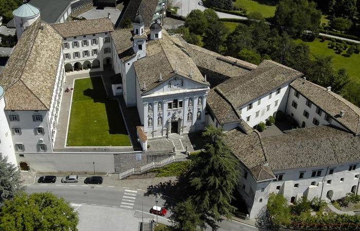 Museo degli Usi e Costumi della Gente Trentina. Vista dall'alto